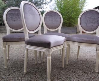 Reloking de chaises médaillon - Brest