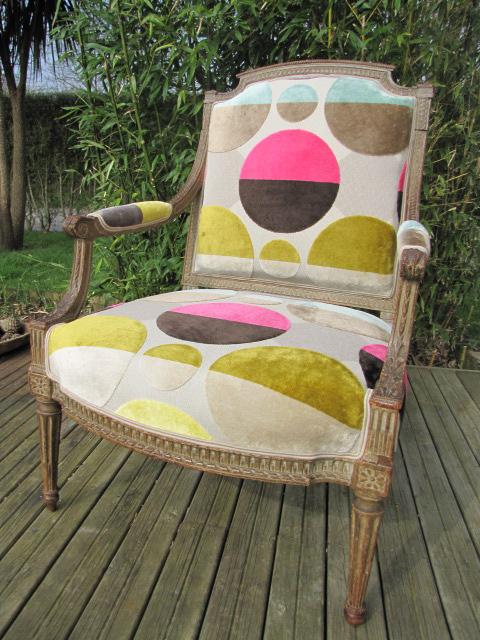 Relooking d'un fauteuil - Brest